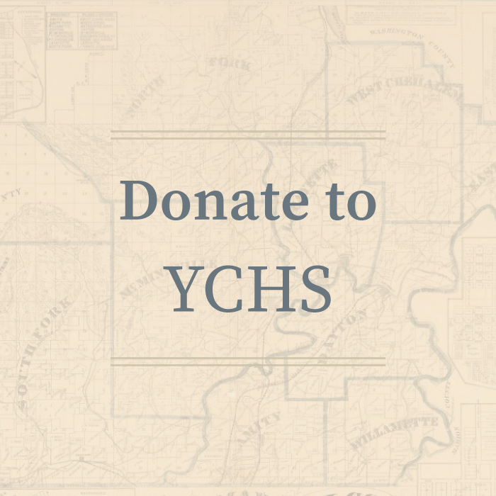 Donate to Yamhill County Historical Society