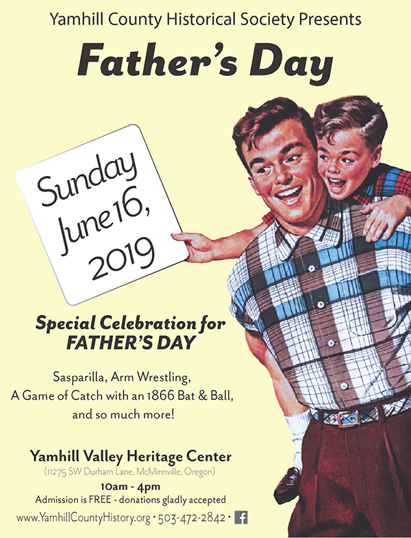 Father's Day Celebration - Yamhill County Historical ...